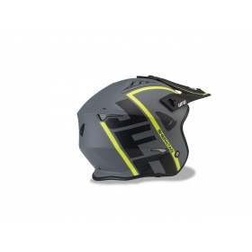 Casque UFO Sheratan Matt Black/Neon Yellow taille XS