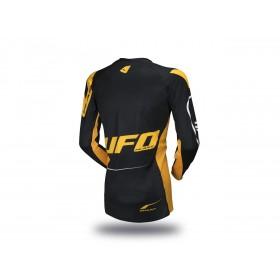 Maillot UFO Slim Sharp noir/jaune taille L