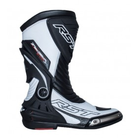Bottes RST TracTech Evo 3 CE sport cuir blanc 40 homme