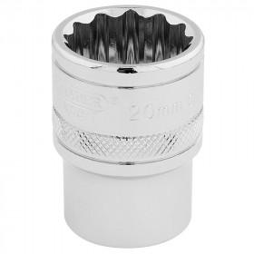 Douille DRAPER 1/2 12 pans Hi-Torq® 20mm