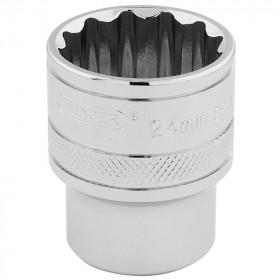 Douille DRAPER 1/2 12 pans Hi-Torq® 24mm