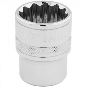Douille DRAPER 1/2 12 pans Hi-Torq® 22mm