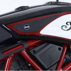 Kit grip de réservoir R&G RACING Eazi-Grip™ noir Indian FTR1200/1200S