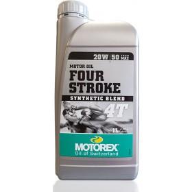Huile moteur MOTOREX 4 Stroke 20W50 semi-synthétique 1L