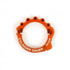 Protection sortie cylindre-échappement S3 orange KTM/Husqvarna