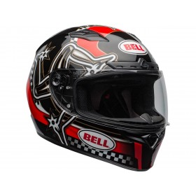 Casque BELL Qualifier DLX Mips Isle of Man 2020 Gloss Red/Black taille XL