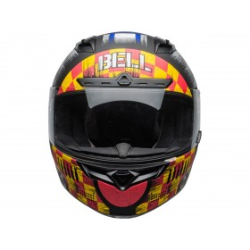 Casque BELL Qualifier DLX Mips Devil May Care Matte Grey taille M
