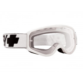 Masque SPY Cadet White blanc écran clair