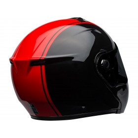 Casque BELL SRT Modular Ribbon Gloss Black/Red taille XXL