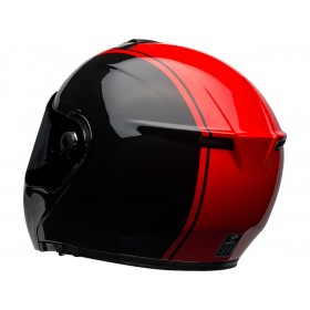 Casque BELL SRT Modular Ribbon Gloss Black/Red taille L