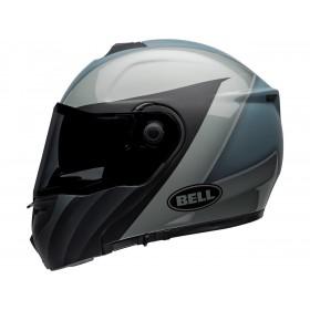 Casque BELL SRT Modular Presence Matte/Gloss Black/Gray taille XL