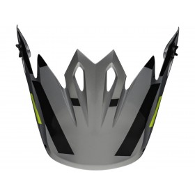 Visière BELL MX-9 MIPS® Seven Equalizer Gray/Black/Hi-Viz