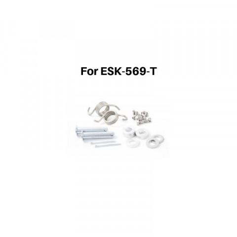 Pièces de rechange pour reposes-pieds S3 Hard Rock Enduro 41900048