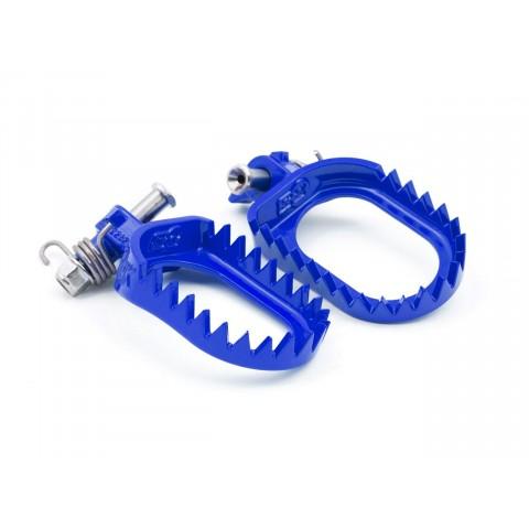 Repose-pied S3 Punk acier bleu Sherco