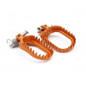Repose-pied S3 Punk acier orange KTM/Husqvarna