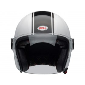 Casque BELL Riot Rapid Gloss White/Black taille XXL