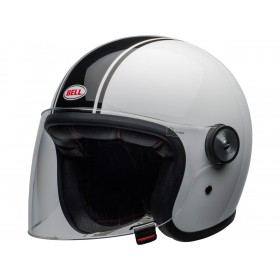 Casque BELL Riot Rapid Gloss White/Black taille S