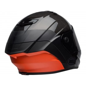 Casque BELL Race Star Flex DLX Carbon Lux Matte/Gloss Black/Orange taille M