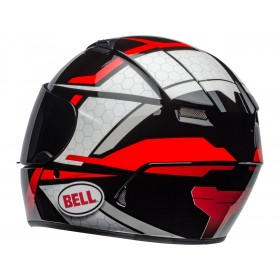 Casque BELL Qualifier Flare Gloss Black/Red taille M