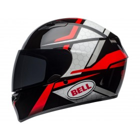 Casque BELL Qualifier Flare Gloss Black/Red taille XXL