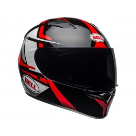 Casque BELL Qualifier Flare Gloss Black/Red taille S