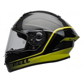 Casque BELL Race Star Flex DLX Velocity Matte/Gloss Black/Hi Viz taille XL