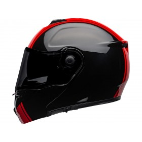 Casque BELL SRT Modular Ribbon Gloss Black/Red taille XS