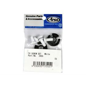 Kit vis écran/visière ARAI blanc pour casques Tour-X 4/Tour-X 3/Tour-X 2