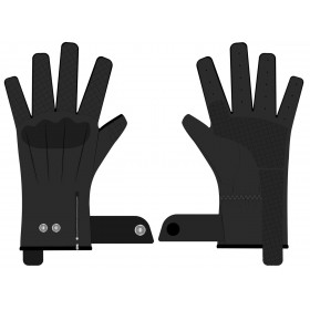 Gants RST Matlock CE cuir noir taille XS homme