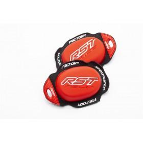 Slider genou RST Factory Reverse Velcro rouge