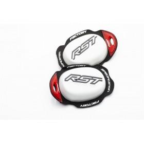 Slider genou RST Factory Reverse Velcro blanc