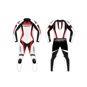 Combinaison RST Tractech EVO 4 CE cuir rouge taille 3XL homme