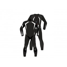 Combinaison RST R-Sport CE cuir blanc taille 3XL homme