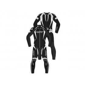 Combinaison RST Tractech EVO 4 CE cuir blanc/noir taille M homme