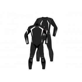 Combinaison RST R-Sport CE cuir blanc taille XL homme