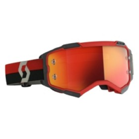 SCO GOGGLE FURY RED/BLACK ORA CHRO WKS