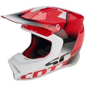 SCO HELMET 550 NOISE ECE RED/BLACK M