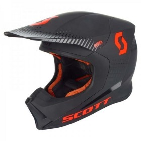 HELMET 550 HATCH ECE BLACK/ORANGE M