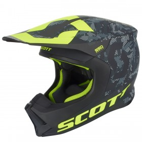 HELMET 550 CAMO ECE BLACK/YELLOW S