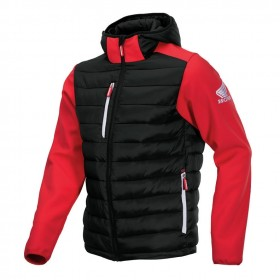 VESTE HYBRIDE SOFTSHELL RACE HONDA RED S