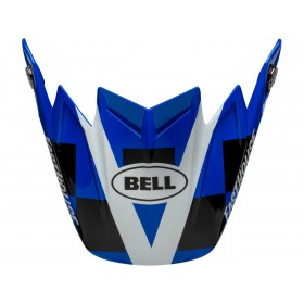 Visière BELL Moto-9 Flex Fasthouse DID 2020 Bleu/White