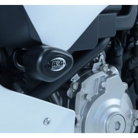 Tampons de protection R&G RACING Aero blanc Yamaha YZF-R1
