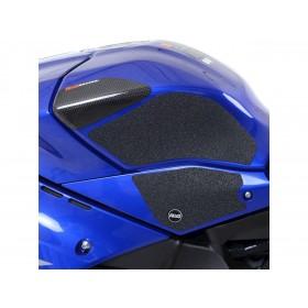 Kit grip de réservoir R&G RACING noir (4 pièces) Yamaha YZF-R1