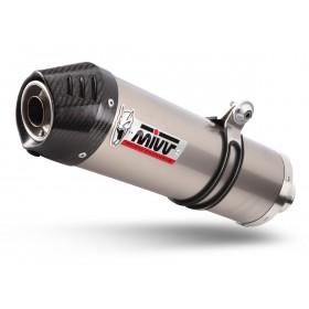 Silencieux MIVV Oval titanr/casquette carbone KTM 790 Adventure