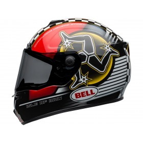 Casque BELL SRT Isle of Man 2020 Gloss Black/Red taille XXL