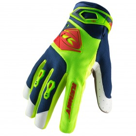 GANTS TRACK ENFANT 3 LIME RED