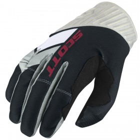 GLOVE 450 PODIUM BLACK/WHITE S