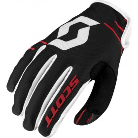 GLOVE 350 DIRT RED/BLACK S
