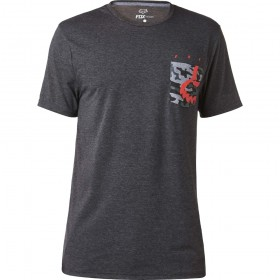 EYECON POCKET SS TECH TEE [HTR BLK] S