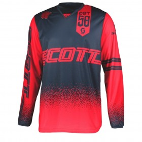 SCO JERSEY 350 RACE RED/BLUE L
